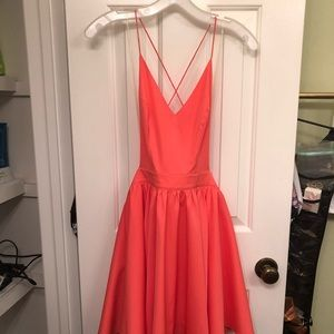 Double Zero Orange dress
